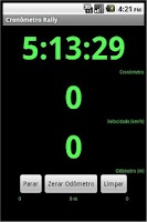 Screenshot of Cronômetro Rally Beta