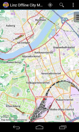 Linz Offline City Map