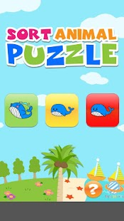Sort animal puzzle : for kids - screenshot thumbnail