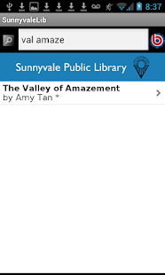 Sunnyvale Public Library- screenshot thumbnail