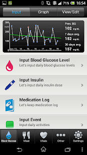 Pedometer for Smart e-SMBG- screenshot thumbnail