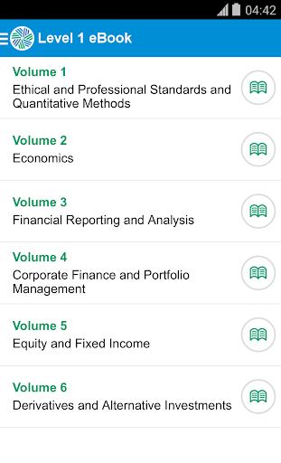 CFA Program Study App