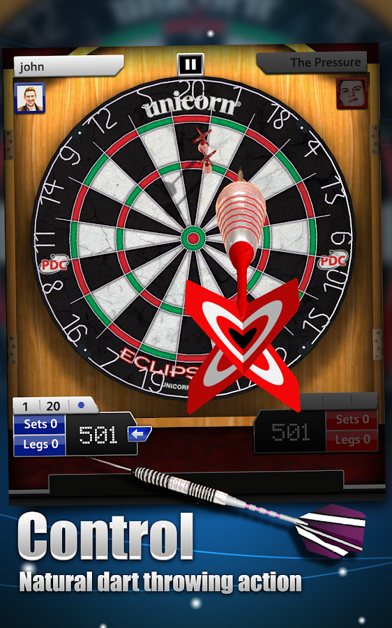 Darts Match- screenshot