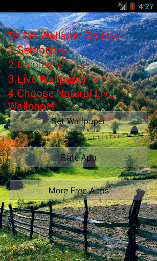 Natural Live Wallpaper