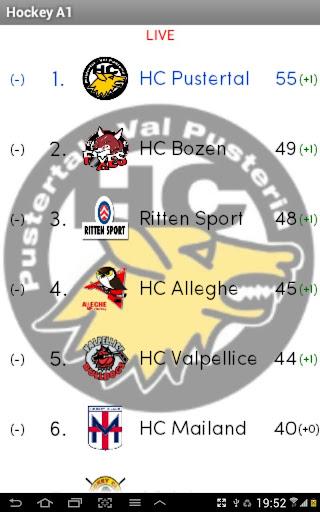 Hockey A1 Live Ergebnisse
