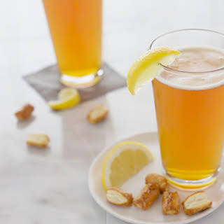 Bourbon and Honey Beer Cocktail.