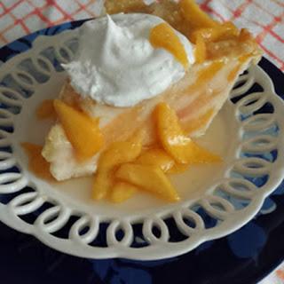 Peaches and Cream Pie.