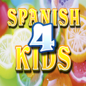Spanish vocabulary 4 children logo