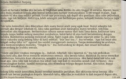 【免費書籍App】Cerita Hantu Seram Misteri Two-APP點子