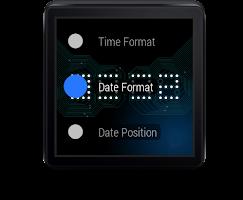 Screenshot of Wear Time Circuit - Watch Face