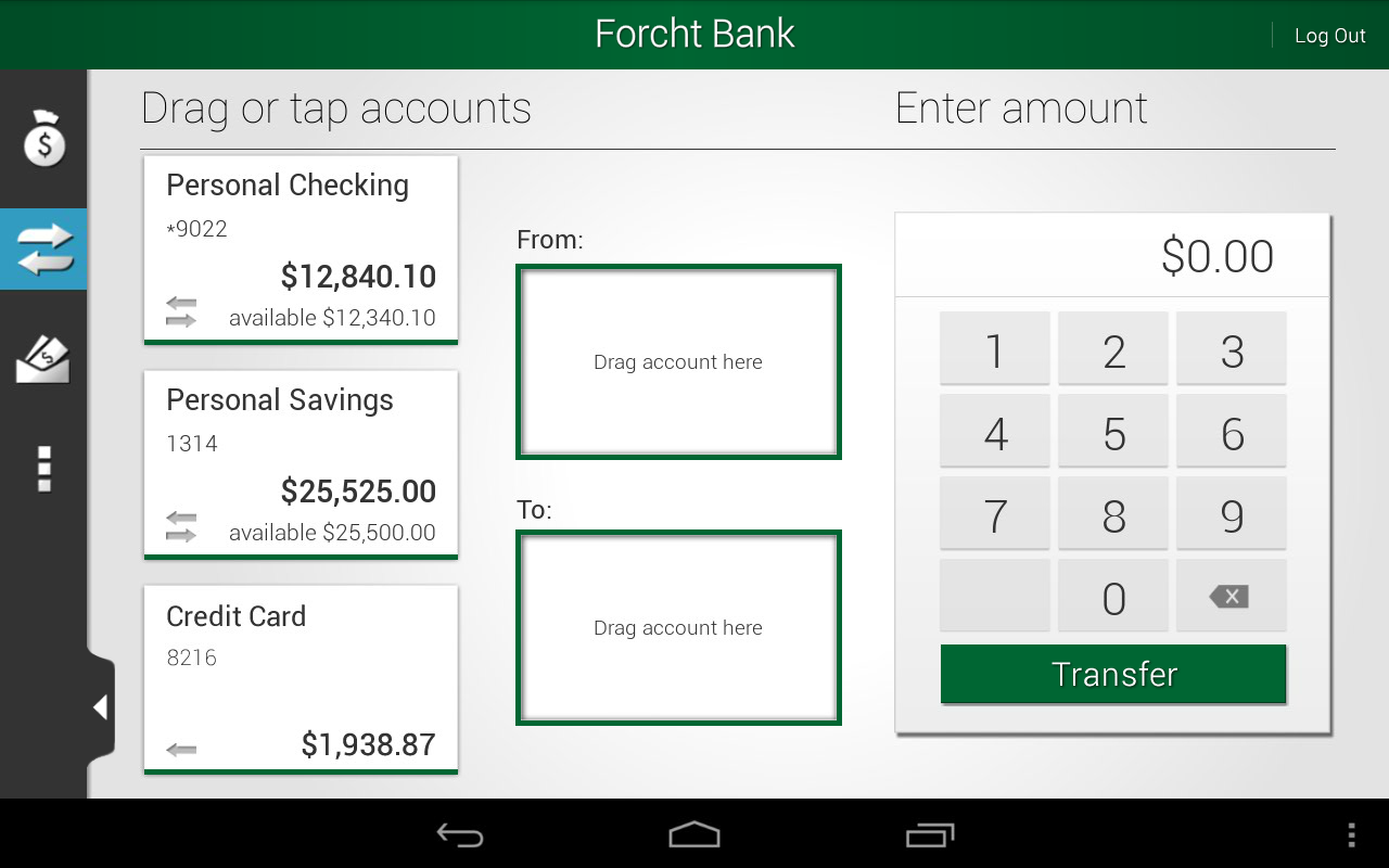 Forcht Bank – Mobile Banking - screenshot