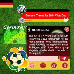 Germany Theme 2014 WorldCup