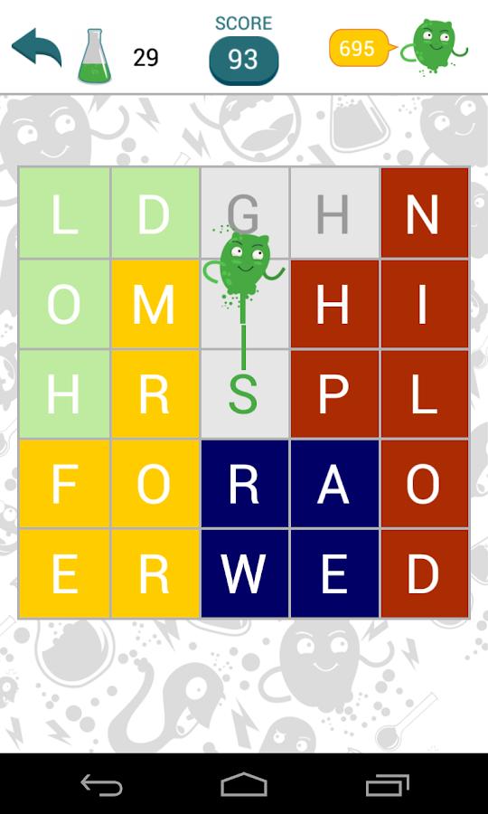 Fill-The-Words - screenshot