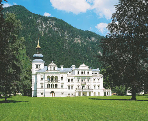 gruberhof-castle-near-st-martin-bei-lofer - Gruberhof Castle near St. Martin bei Lofer, Austria.