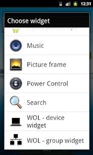 WOL - Wake on Lan (widget)- screenshot thumbnail