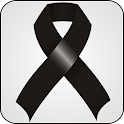 Black Ribbon doo-dad icon