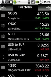 Stock Alert - screenshot thumbnail