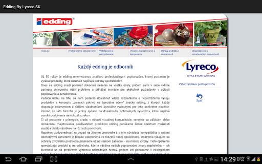 edding by Lyreco SK