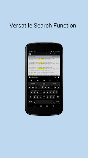 Minutes Text Notes + Sync