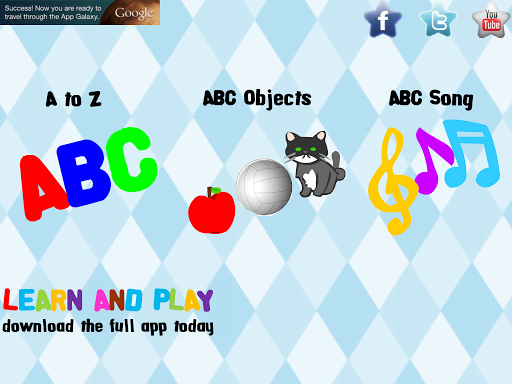 Alphabet Free Learn and Play v1.6.2 screenshots 7