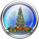 Snow Globe Christmas Tree LWP icon