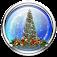 Snow Globe Christmas Tree LWP
