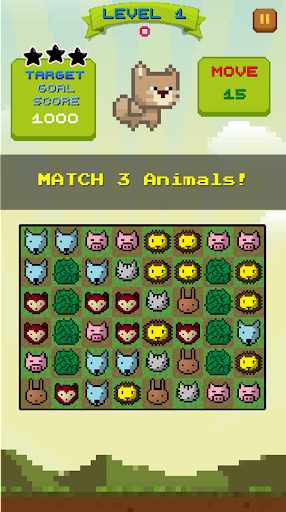 Pixel 2D Puzzle - Animal World