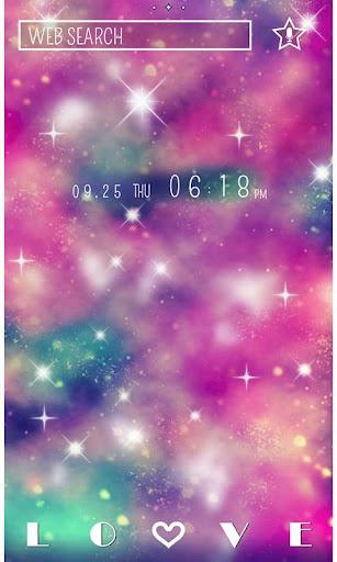 ★きせかえ無料★Pink Universe