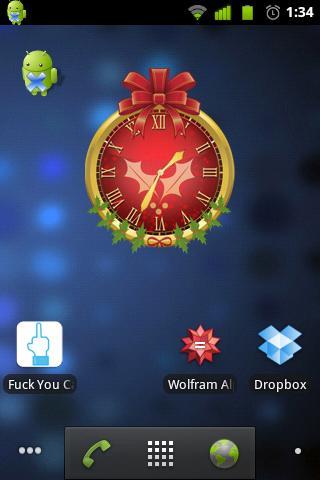 クリスマス時計
