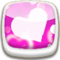 Pink Heart Love icon