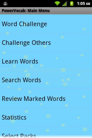 PowerVocab Spanish Words Pack - screenshot