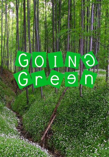 Be Environmentally Friendly