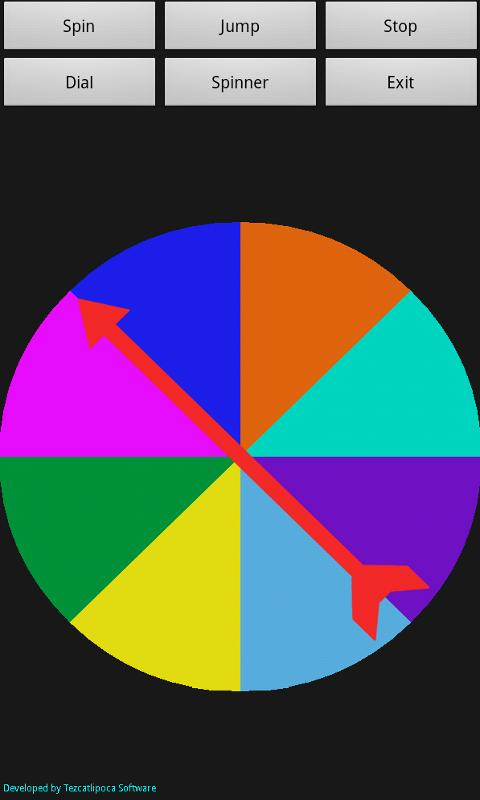Spinner App- screenshot