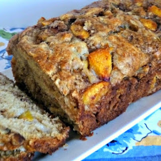 Peach Walnut Loaf