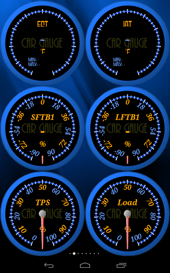 Car Gauge Pro (OBD2 + Enhance) - screenshot