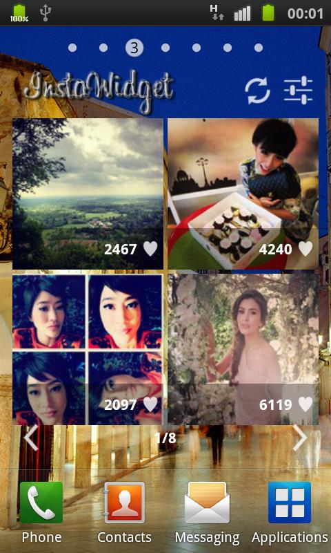Instagram Widget (InstaWidget) - screenshot