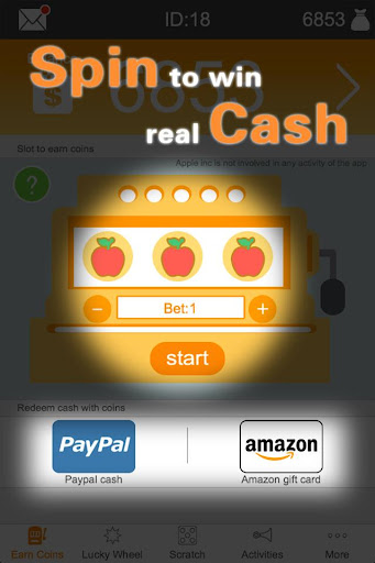 Tap Cash Win Free Gift Cards