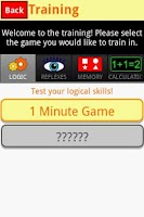 Screenshot of 1 Minute Game (brain training)