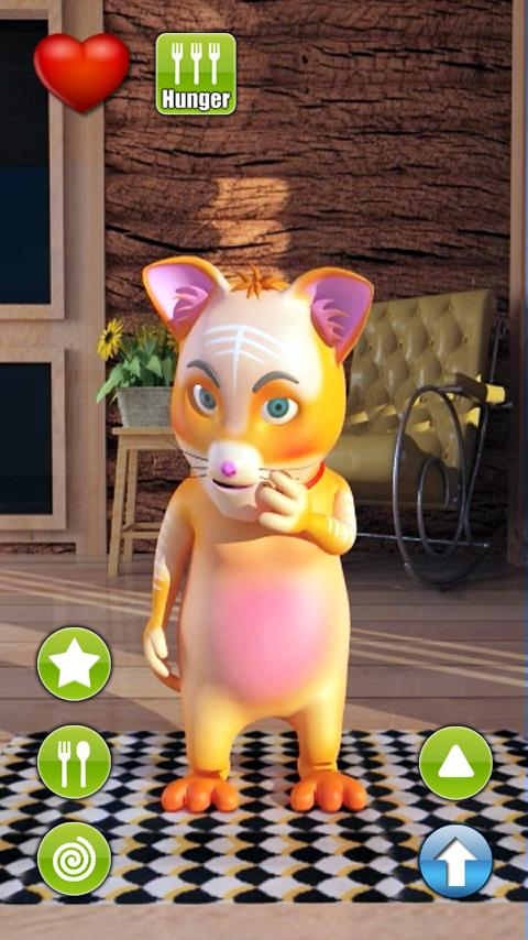 Talking Christopher Cat - screenshot