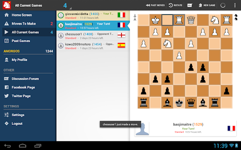 Chess-presso Multiplayer Chess- screenshot thumbnail