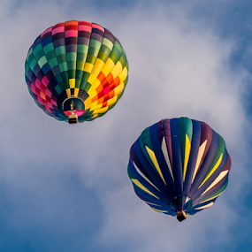 Cloud Soaring by Victor Martin - Transportation Other ( hot air balloon, flying, fly, floating, transportation,  )