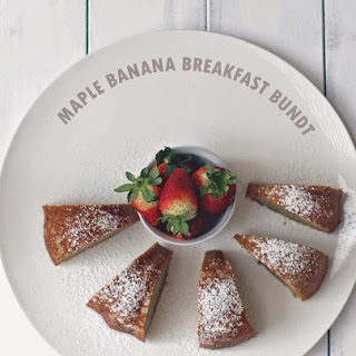 Maple Banana Breakfast Bundt