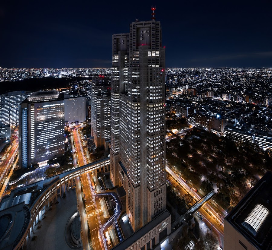 TMGB No.1 by Timeless Gravity - City,  Street & Park  Night ( japan, tokyo, night, shinjuku, city )
