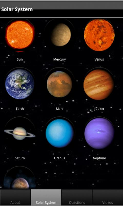 names of planets in spanish - photo #40