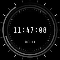 Screenshot of Chron Watch Face