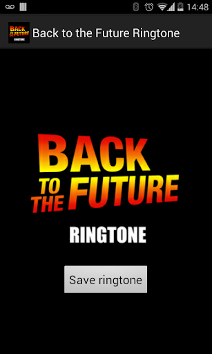 Back to the Future Ringtone