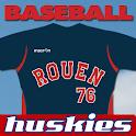 Rouen Huskies Baseball logo