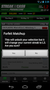 ESPN Streak For The Cash - screenshot thumbnail