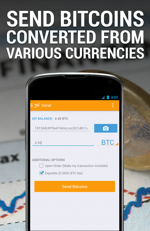MtGox Mobile - screenshot