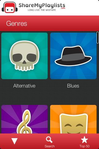 ShareMyPlaylists - screenshot